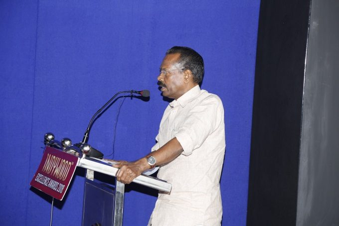 Minister TP Ramakrishnan delivering inaugural address