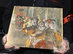 French customs agents stumbled upon a stolen $1 million painting in an unlikely place