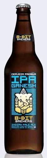 Ganesh IPA by 8-Bit Brewers, Baja California, Mexico