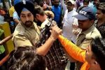 Sikh cop who saved Muslim man's life faces death threats, sent on leave