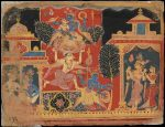 Renowned Getty Museum exhibiting paintings of Hindu gods