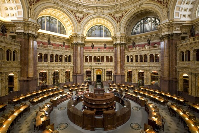 Main_Reading_Room_US Congress Library