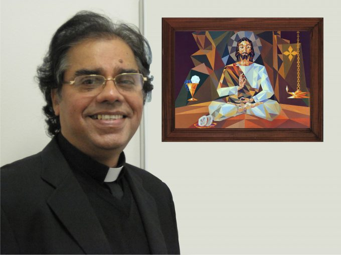 My photo with christ the guru Clergy (5)