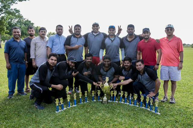 St. Joseph's Syro Malabar Church with Champions Trophy
