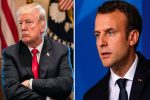 Macron tells Trump US tariffs are 'illegal', EU will respond