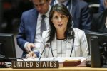 US will veto UN draft on protecting Palestinians: US Ambassador Nikki Haley