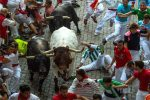 Famed Spanish bull run ends with two gored, dozens hurt