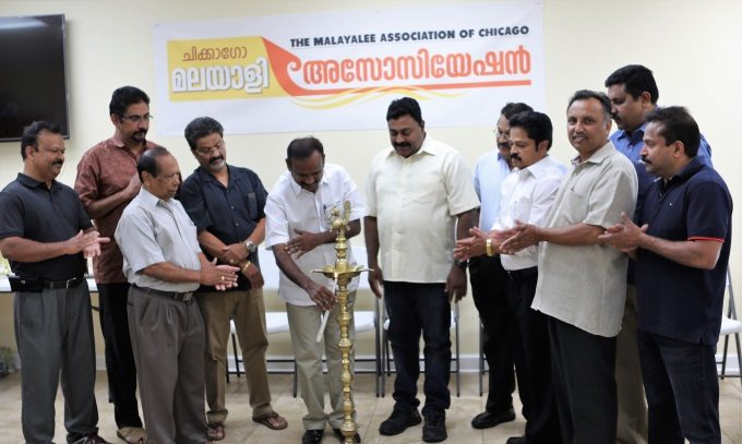 Card Games being Inaugurated by Sri VP Sajeendran MLA