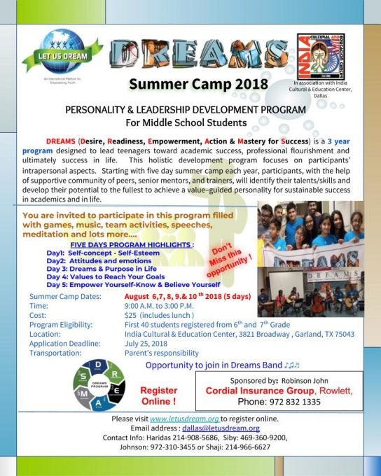 Dreams Summer Camp