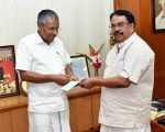 Dr. Babu Stephen donated Rs. One Crore to Chief Minister's Distress Fund