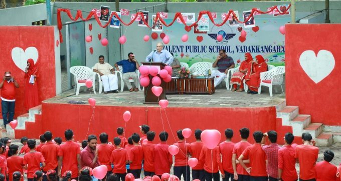 WORLD HEART DAY 2018 MARKED @ TALENT PUBLIC SCHOOL 1