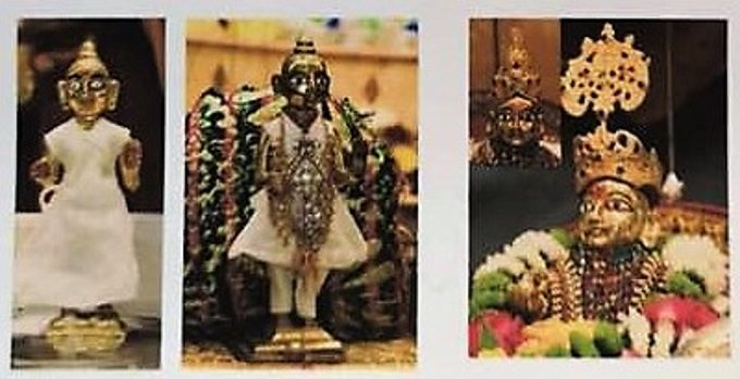 Images of statues reportedly stolen from Shree Swaminarayan Temple-Willesden.