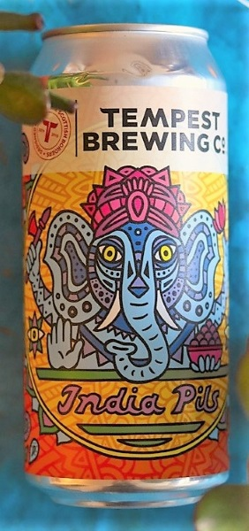 India Pils beer of Tempest Brewing