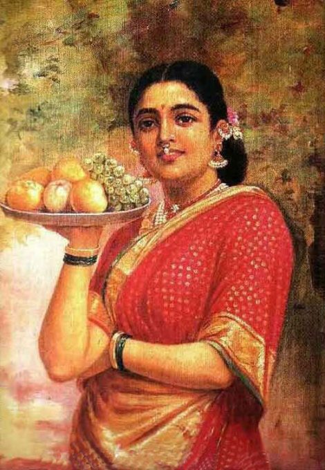 Raja_Ravi_Varma,_The_Maharashtrian_Lady