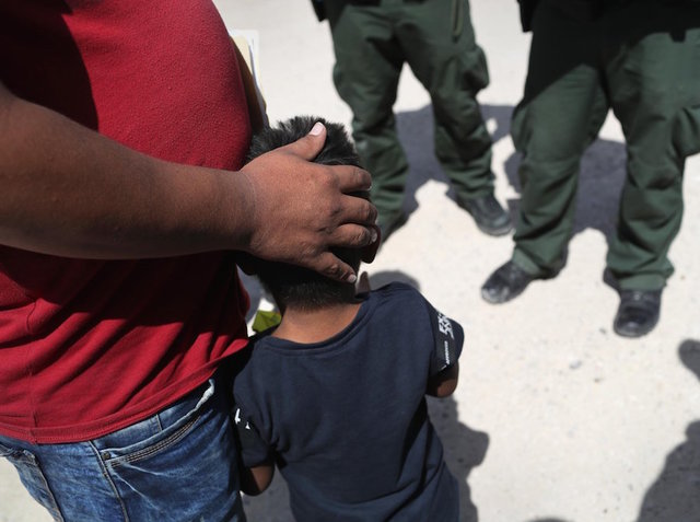A record number of unaccompanied immigrant children, about 14,000, are currently in US custody, a Health and Human Services spokesman said Friday.