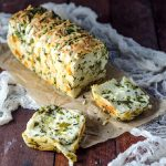 Recipes Using Nature's Antibiotics – Cheesy garlic bread