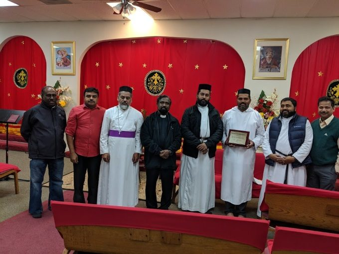 Farwell to Rev.Fr.Pradosh Mathew
