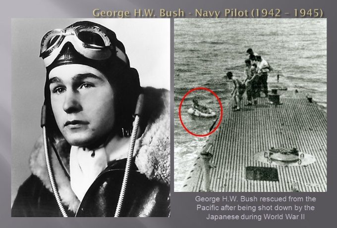 George+H.W.+Bush+-+Navy+Pilot+(1942+–+1945)