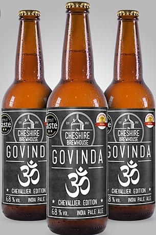 Govinda beer by Cheshire Brewhouse