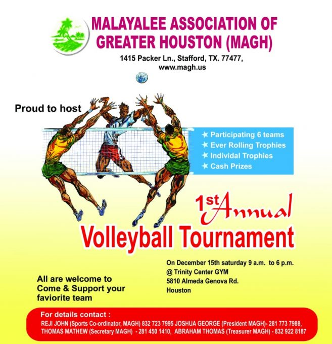 MAGH Volleyball - Flyer