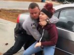 North Carolina police officer under investigation after slamming teen sisters to ground