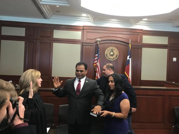 Fort Bend County Judge KP George