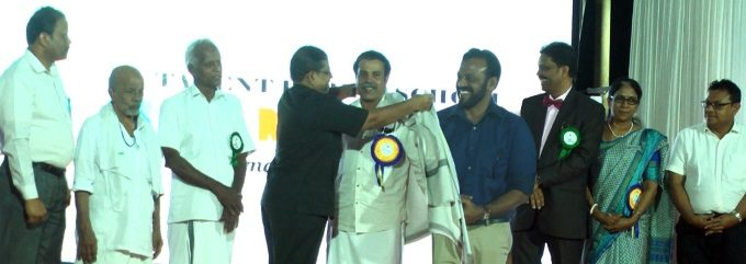 HAMEED KOOTTAPULAN HONOURED