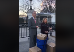 Dems deliver trash from national parks to White House
