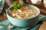 Creamy Chicken and Veggie Wild Rice Soup