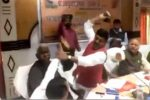 India's BJP lawmakers thrash each other with shoes