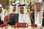 Qatar emir abruptly leaves Arab League summit in Tunisia