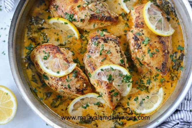 Creamy-Lemon-Chicken-with-Spinach-l-SimplyScratch.com-14-735x491