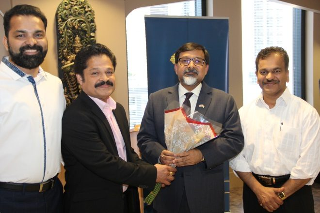 CMA Officials Visited Indian Consul General Mr. Sudhakar Dalela