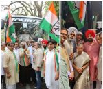 Indian Overseas Congress, USA leaders, are in India and campaigning!