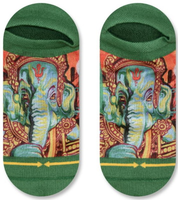 Ganesh socks by MERGE4