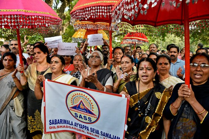 Lord-Ayyappa-Devotees-Protest-Against-SC-Verdict-on-Sabarimala-1