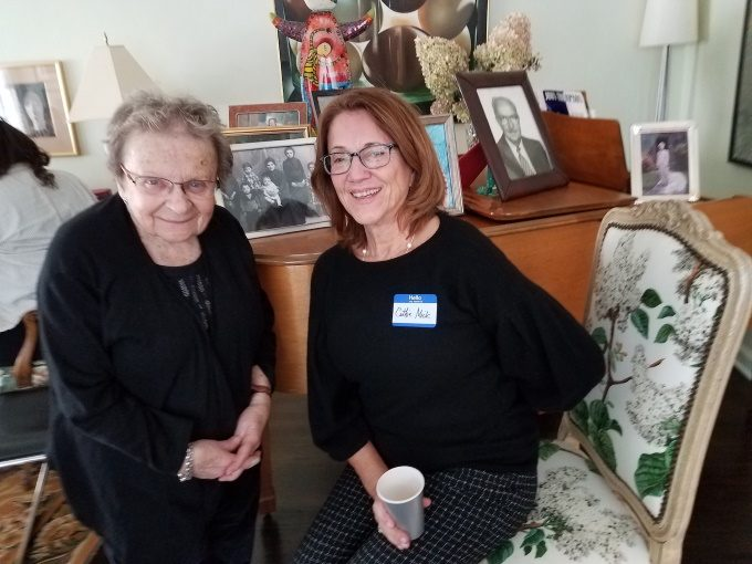 Shirley Shapiro and Cathie Mick