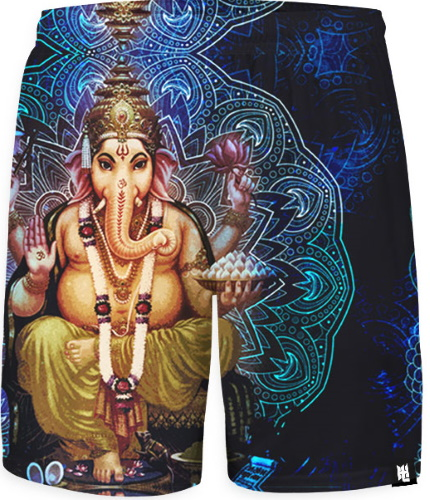 Ganesha Shorts by Hoodie Lab, Stockholm