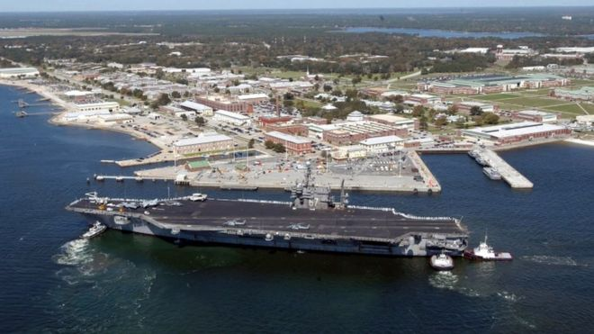 The attack last month occurred at the Naval Air Station Pensacola, Florida