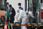 China sees drop in new virus cases, two Japan cruise passengers die