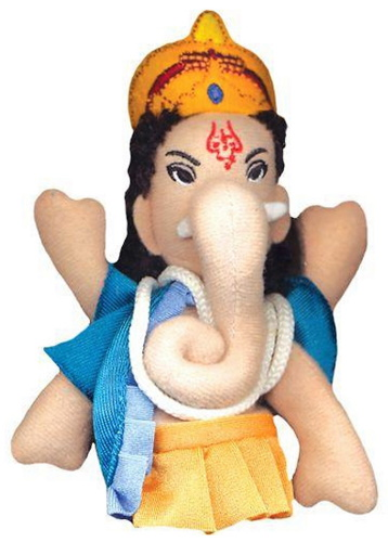 Ganesha finger puppet at Detroit Institute of Arts Museum Shop