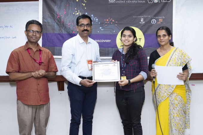 student selected for iit competition