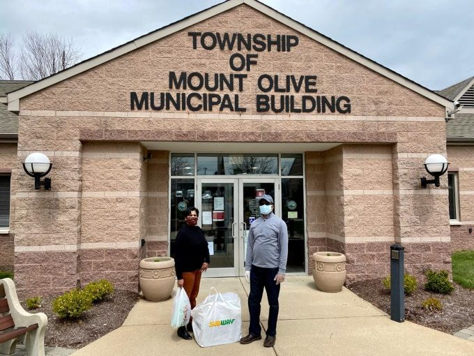 Mount Olive St Thomas Orthodox Church visits Police Station with supplies and food 3