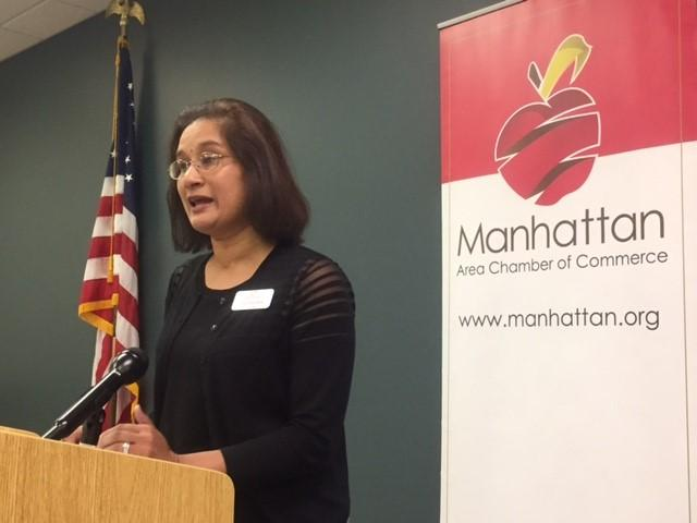 usha_reddi__mayor_of_manhattan__speaking_at_recent_medicaid_expansion_media_event_at_the_manhattan_chamber_of_commerce.