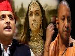 फिल्म पद्मावत को लेकर अखिलेश के निशाने पर योगी सरकार