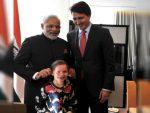 जब प्रधानमंत्री मोदी ने कनाडाई PM की बेटी के कान पकड़े !