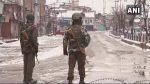 श्रीनगर में आंतिकयों से दूसरे दिन भी मुठभेड़ जारी