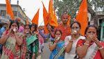മഹാനവമിയും ഹൈന്ദവ ഉത്സവങ്ങളും ബിജെപിയുടെ കുത്തകയല്ലെന്ന് തെളിയിച്ച് ബംഗാളില് റാലികള്
