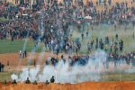 Israeli Military Kills 15 Palestinians in Confrontations on Gaza Border