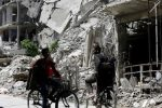 Chemical inspectors enter Syria's Douma amid concerns for probe of alleged gas attack